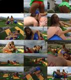 Uma Jolie, Kimmy Granger (Blue Balls) Uma Jolie and Kimmy Granger - Blue Balls