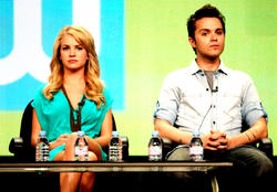 Бритт Робертсон, фото 136. Britt Robertson 2011 Summer TCA - The Secret Circle panel in Beverly Hills - August 4 2011, foto 136