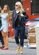 Dakota Fanning out in jeans in New York 09/03/13