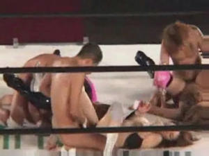 Japanese Sex Wrestling 96