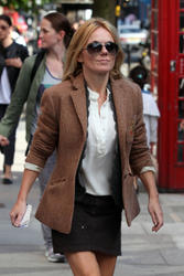 Geri Halliwell leggy out and about