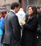 Маришка Харгитей, фото 1208. Mariska Hargitay on set of 'Law and Order SVU', february 2, foto 1208