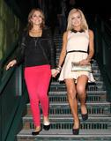 Maria Menounos & Katherine Jenkins | Leaving Mixology 101 Lounge in LA | March 26 | 12 pics