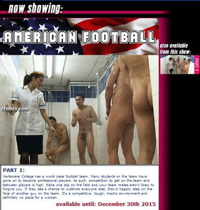 cfnmtv: American Football (Part 1)