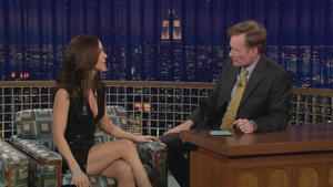Eliza Dushku - Late Night with Conan O'Brien (2009)
