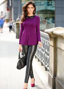Carla Ossa For Bonprix Leather Celebrities