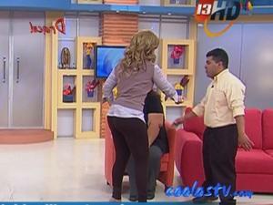 Tema  Rocio Sanchez Azuara MEGA Nalgotas En Mallones Cafes HDTV