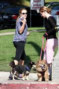 Kristen Bell - out and about in Los Feliz 11/05/12